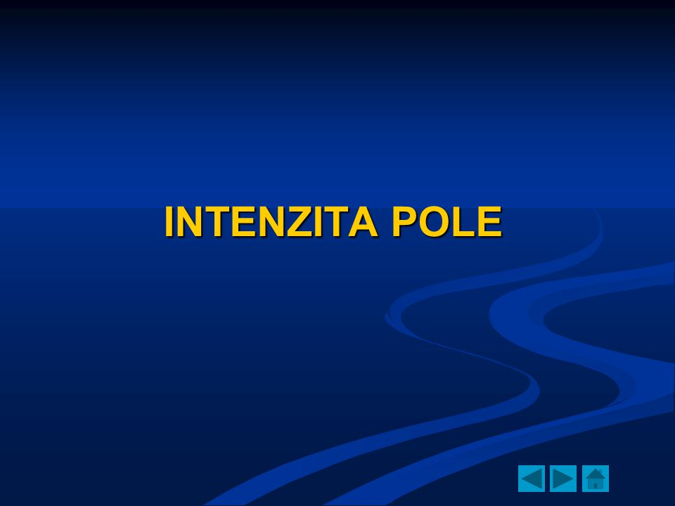 INTENZITA POLE