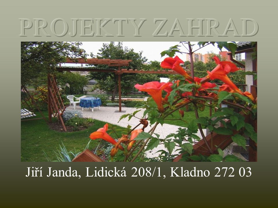Jiří Janda, Lidická 208/1, Kladno 272 03
