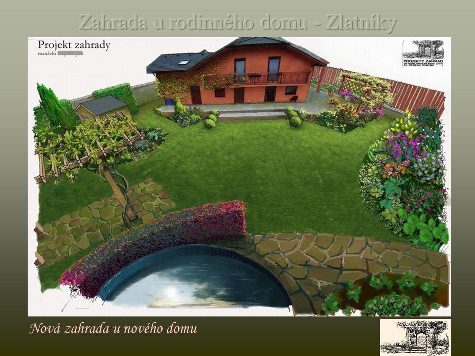 Půdorys – pozemek o rozměru 200 m2
