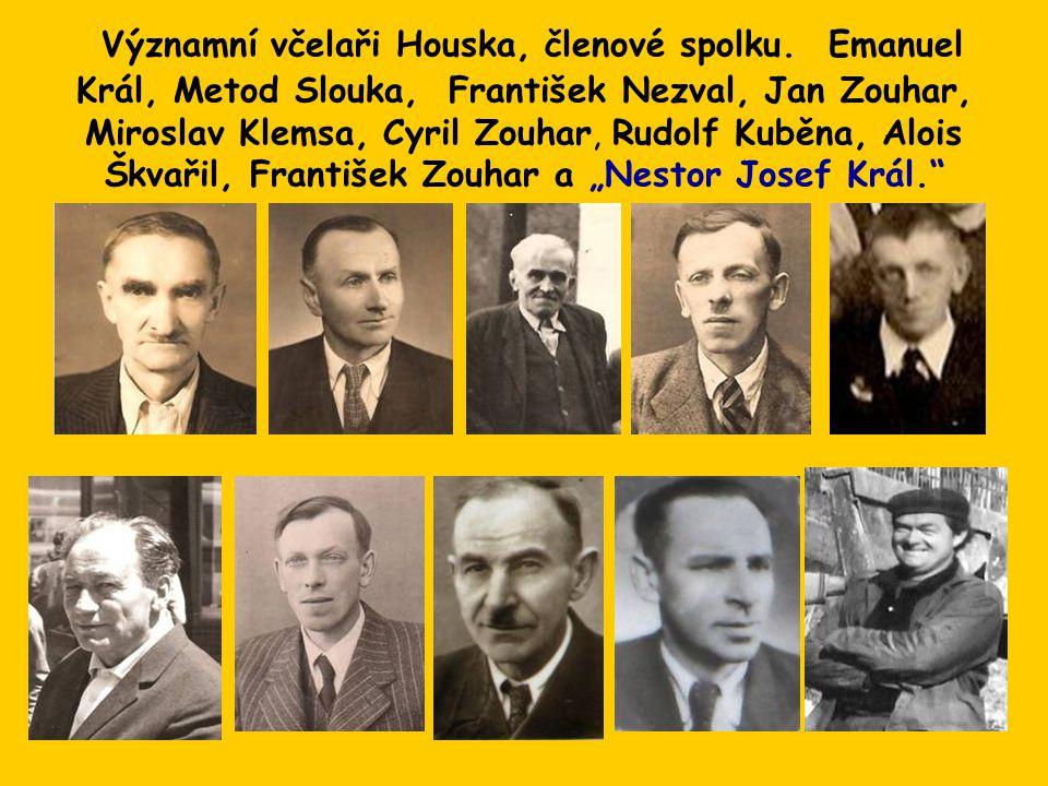 Významní včelaři Houska, členové spolku.