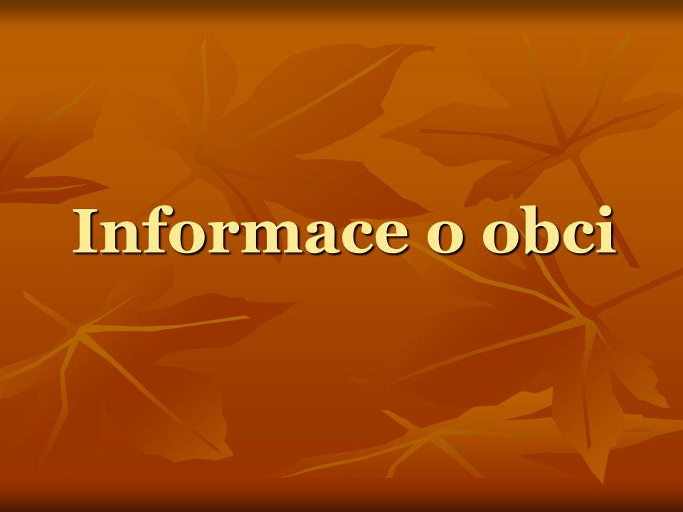Informace o obci