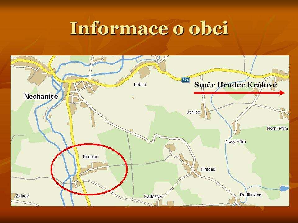 Informace o obci Směr Hradec Králové