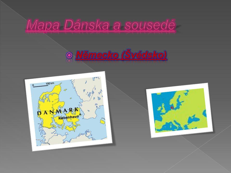  Dánsko omývá Baltské moře a Severní moře.
