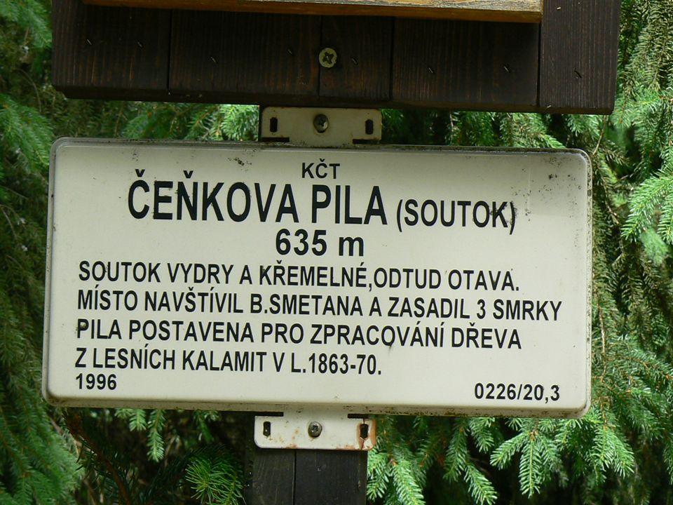 Penzion Byst ř ina se nachází na soutoku Vydry a K ř emelné. Místo je nazýváno perlou Šumavy