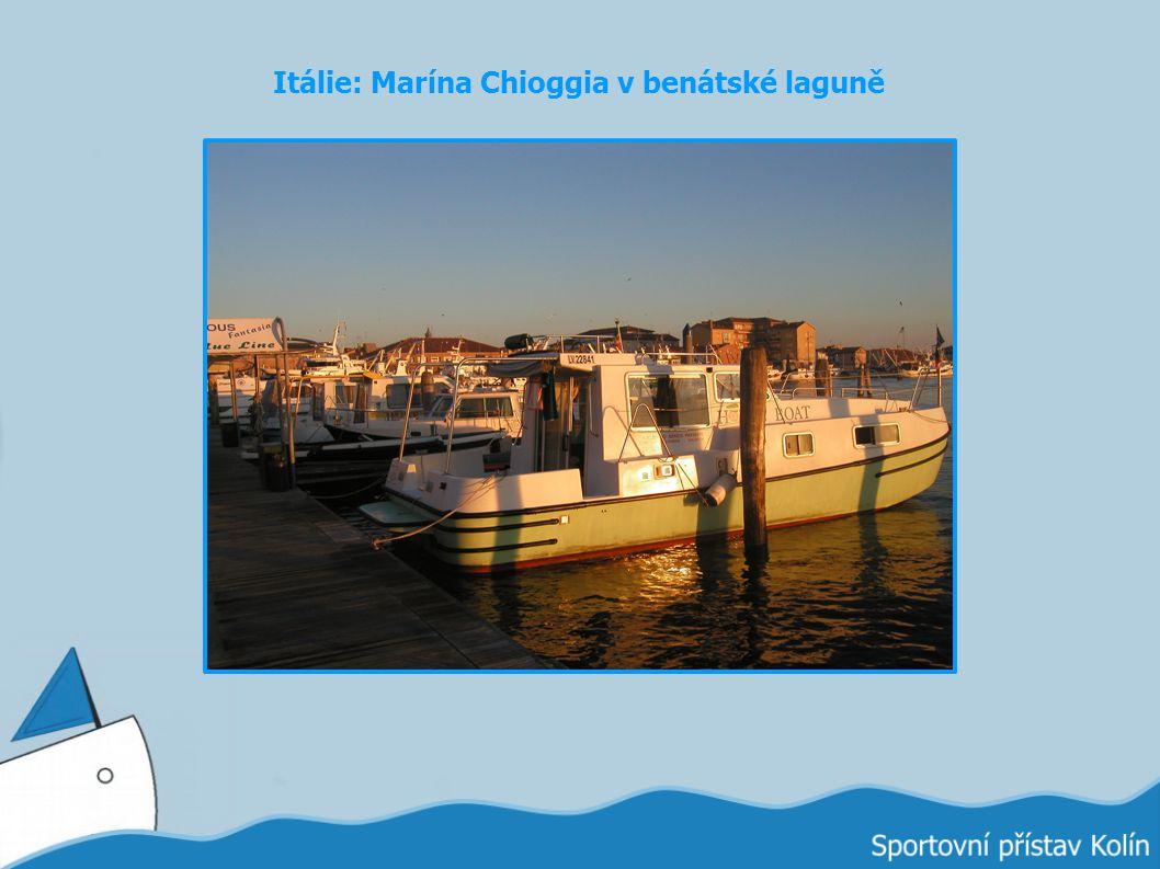 Itálie: Marína Chioggia v benátské laguně