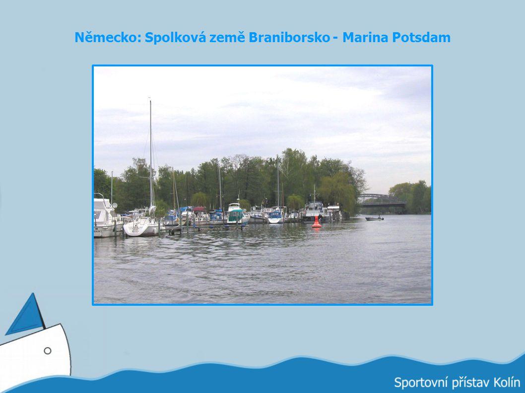 Německo: Spolková země Braniborsko - Marina Potsdam