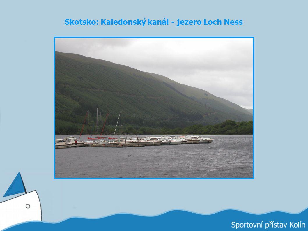 Skotsko: Kaledonský kanál - jezero Loch Ness