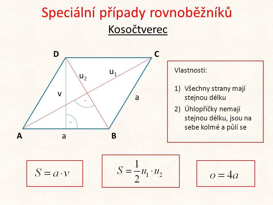 S obdélníku S čtverce S čtverce = S obdélníku Řešený příklad Vypočtěte obvod čtverce, který má stejný obsah jako obdélník, jehož jedna strana má délku 10,6 cm a délka úhlopříčky je 12,8 cm.
