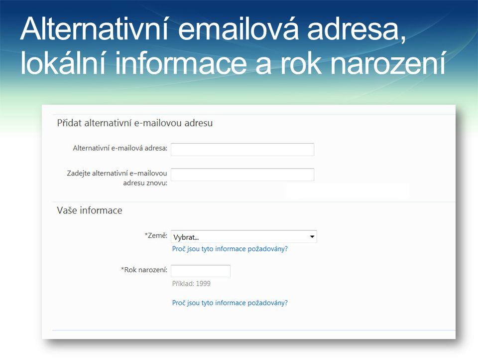 Další krok  Po souhlasu s podmínkami užití je nutné se znovu přihlásit již s novým heslem  Po přihlášení se objeví Outlook Web Access (OWA)  Následuje výběr jazyka a časového pásma  Tím je aktivace dokončena