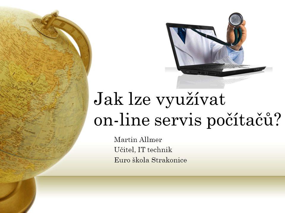 Martin Allmer Učitel, IT technik Euro škola Strakonice