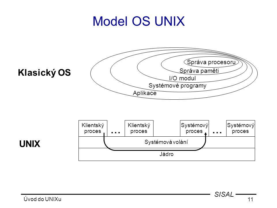 Úvod do UNIXu 11 SISAL...