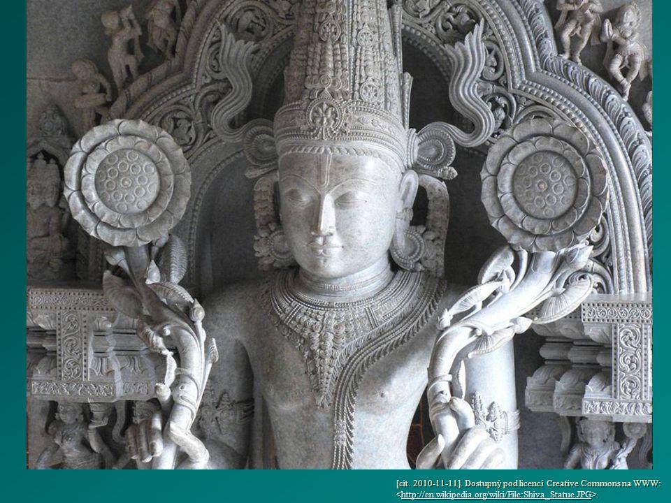 [cit. 2010-11-11]. Dostupný pod licencí Creative Commons na WWW:..http://en.wikipedia.org/wiki/File:Shiva_Statue.JPG