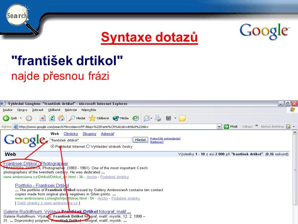 29.6.2014 7 Syntaxe dotazů