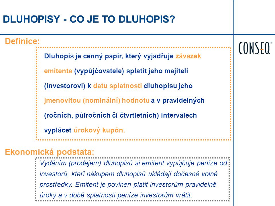 DLUHOPISY - CO JE TO DLUHOPIS.