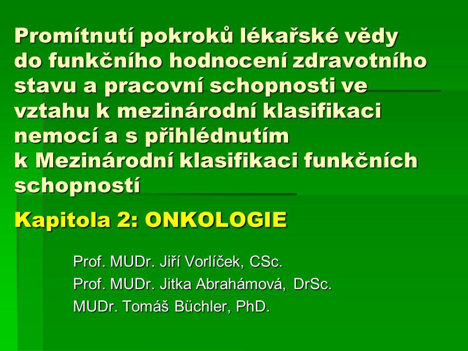 Standardizovaná úmrtnost podle příčin smrti – Zdravotnická ročenka ČR 2007 Celkem zemřelých na novotvary v roce 2007: 27 709 osob