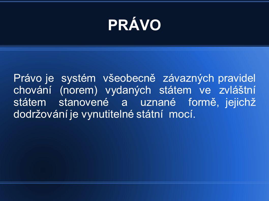 Právní systémy Existují čtyři základní právní systémy, které vycházejí z různých právních pramenů: 1.