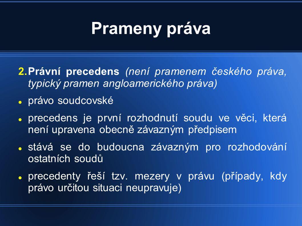Legislativní proces Platnost zákona - vyjadřuje, že zákon byl stanoveným způsobem schválen kompetentními orgány a vyhlášen ve Sbírce zákonů (stal se platnou součásti českého právního řádu).
