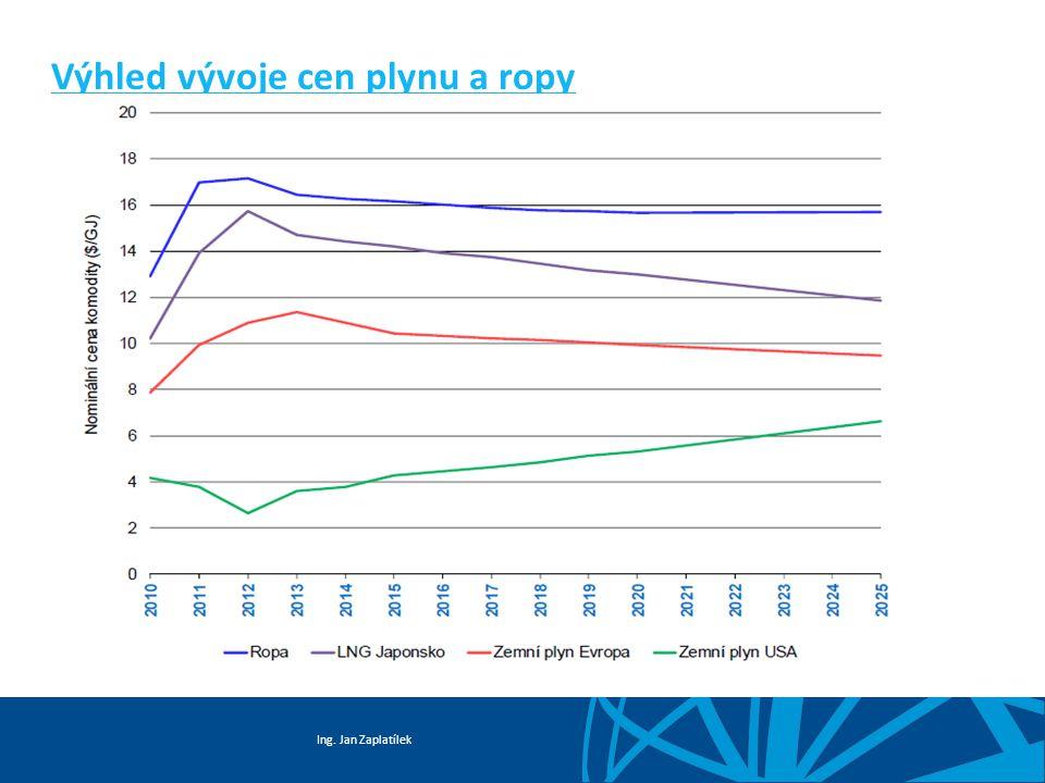 Ing. Jan Zaplatílek Výhled vývoje cen plynu a ropy