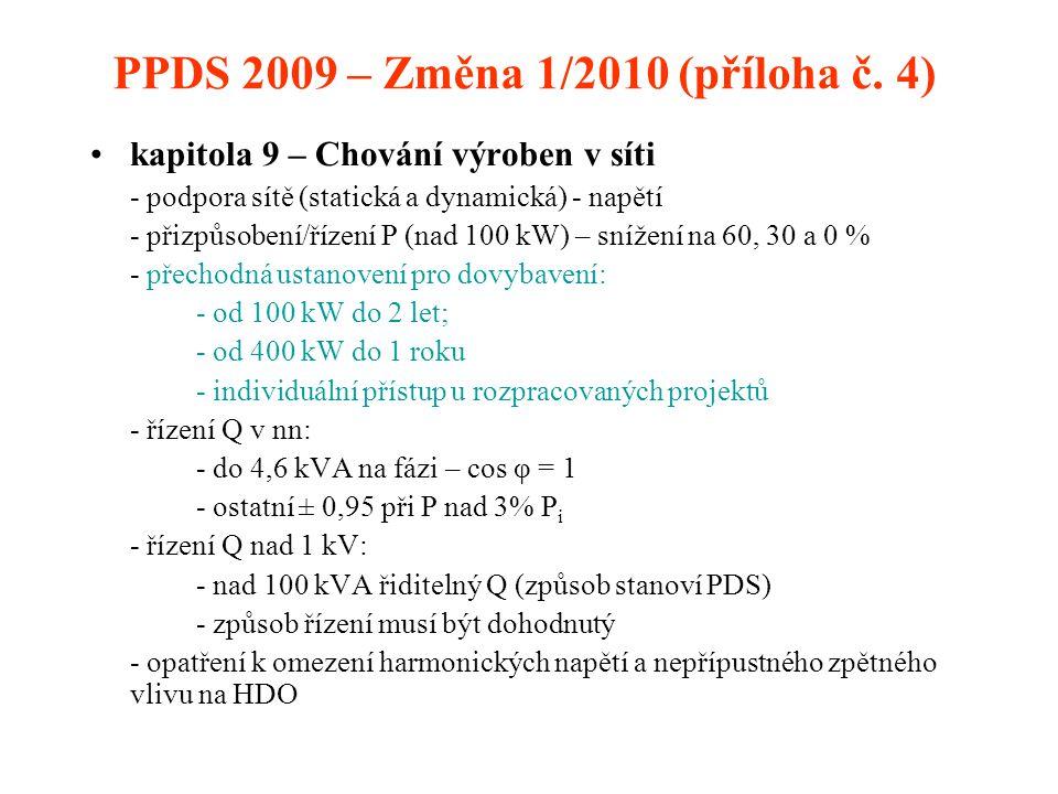PPDS 2009 – Změna 1/2010 (příloha č.