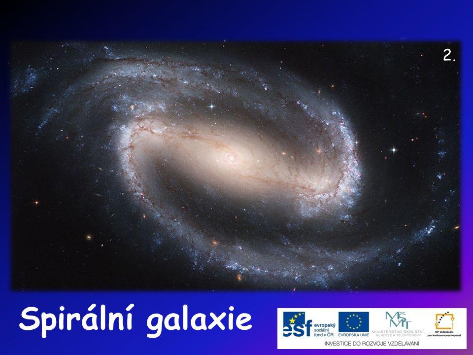 2. Spirální galaxie