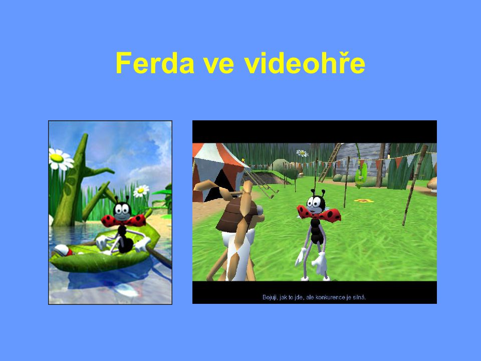 Ferda ve videohře