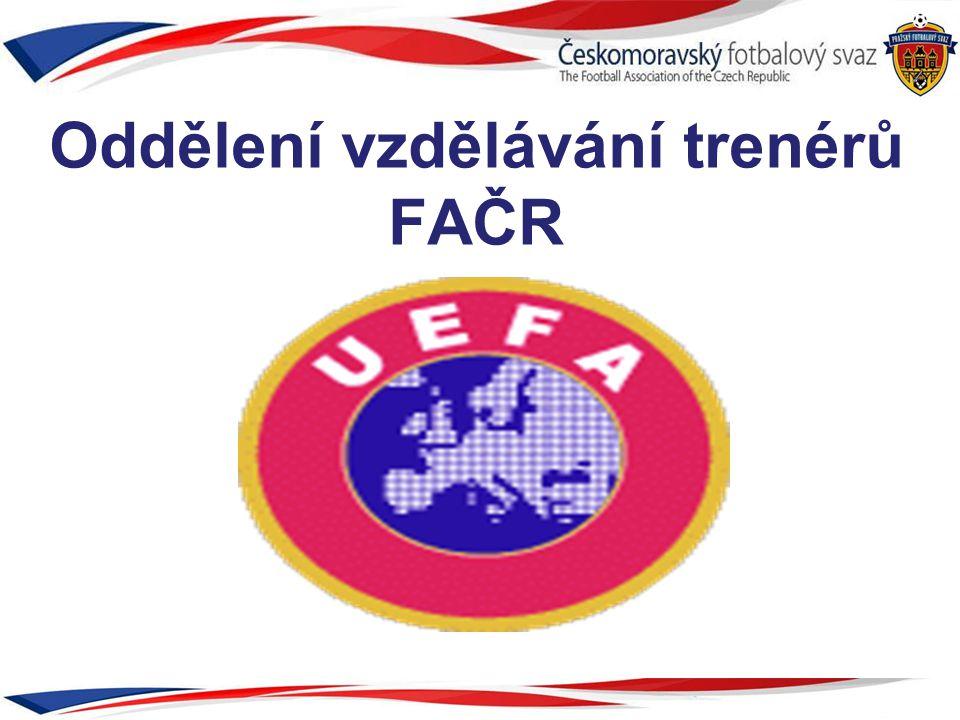Oddělení vzdělávání trenérů FAČR