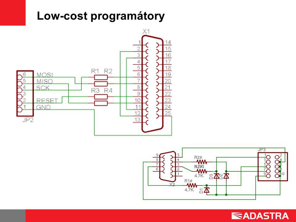 Low-cost programátory