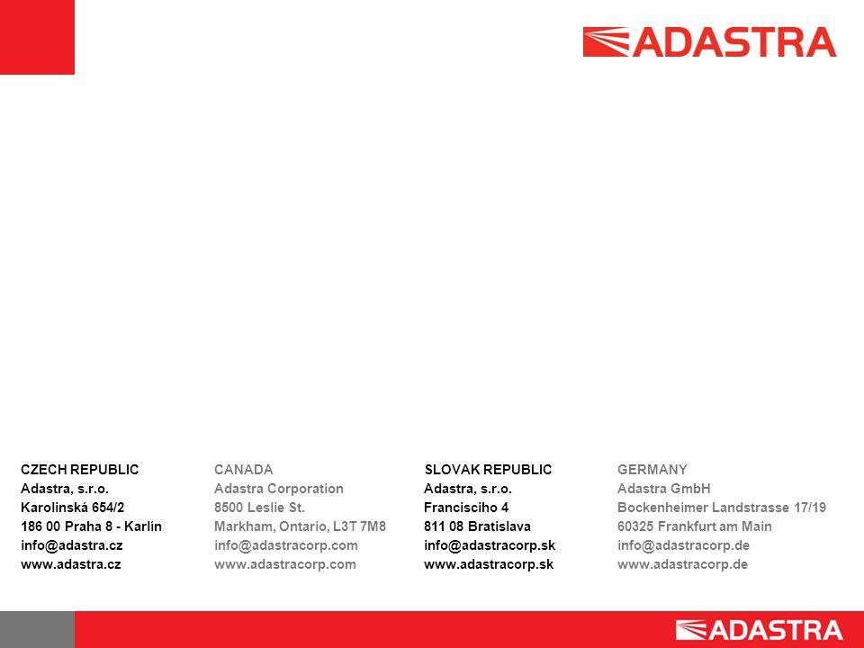 CZECH REPUBLIC Adastra, s.r.o.