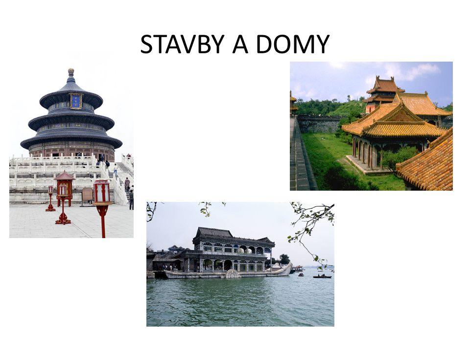 STAVBY A DOMY