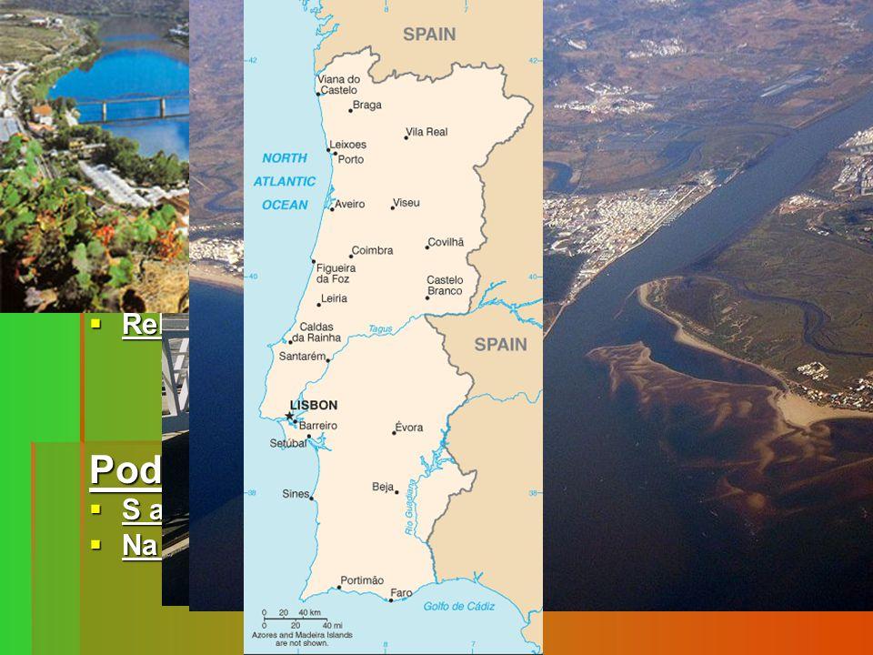 Povrch  Souostroví Madeira a Azorské ostrovy leží v tzv. riftové zóně na styku dvou litosférických desek→sopečný původ a větší riziko zemětřesení Sou