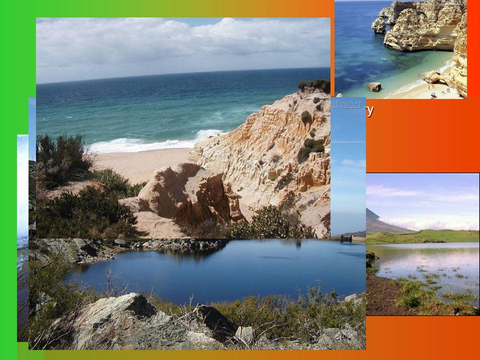 Povrch  Nejvyšší bod: Ponta do Pico ( 2 351 m.n.m.) - Azory  S a V Portugalsko - horská pásma - horská pásma - Serra de Nogueira, Serra do Gerez, -