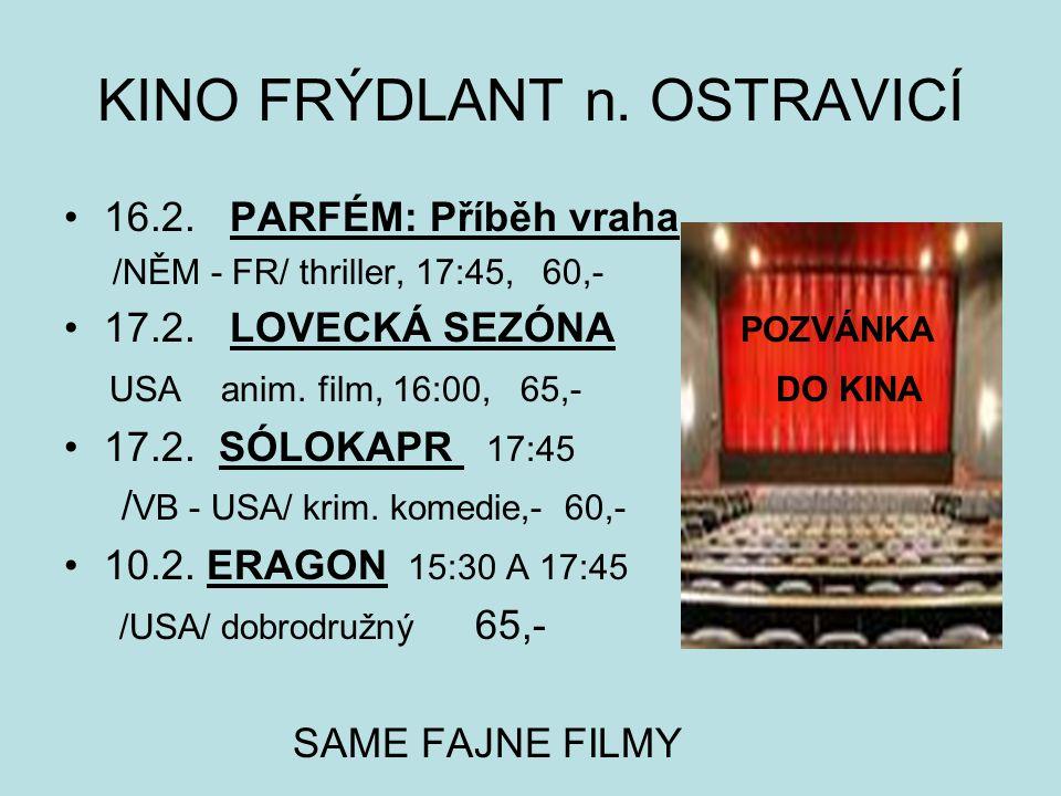 P o z v á n k a n a z á j e z d do divadla Jiřího Myrona v Ostravě dne 25.