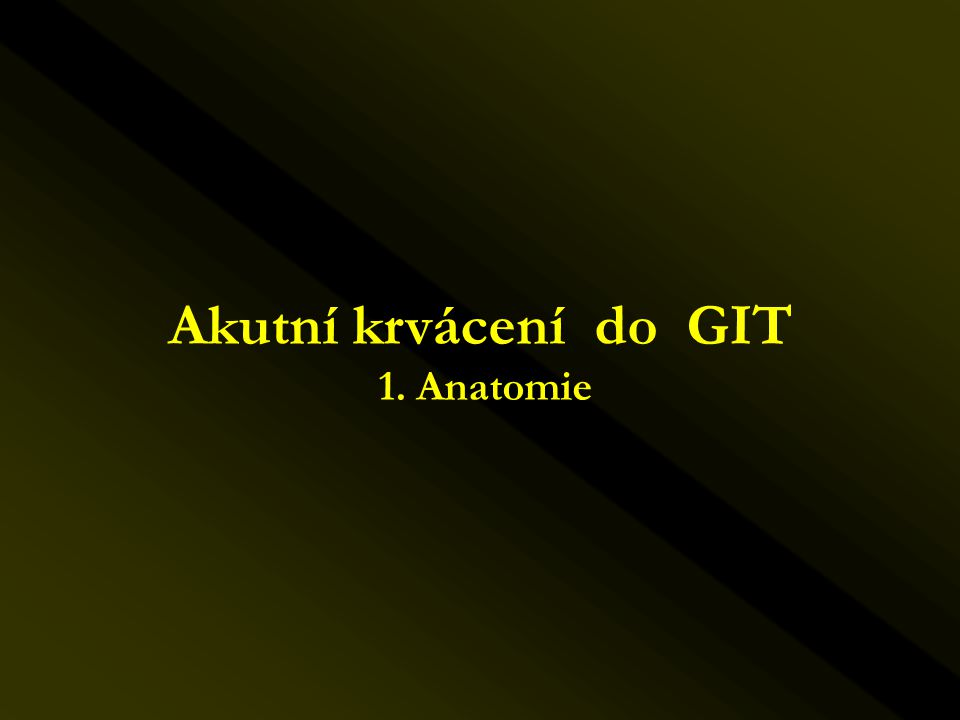 Endovaskulární léčba kazuistika III.