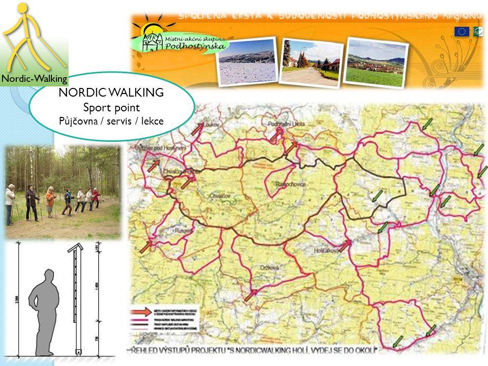 NORDIC WALKING Sport point Půjčovna / servis / lekce