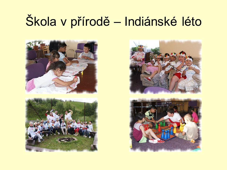 Škola v přírodě – Indiánské léto