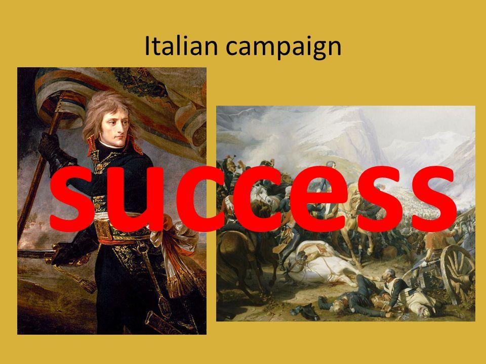 Egyptian campaign success