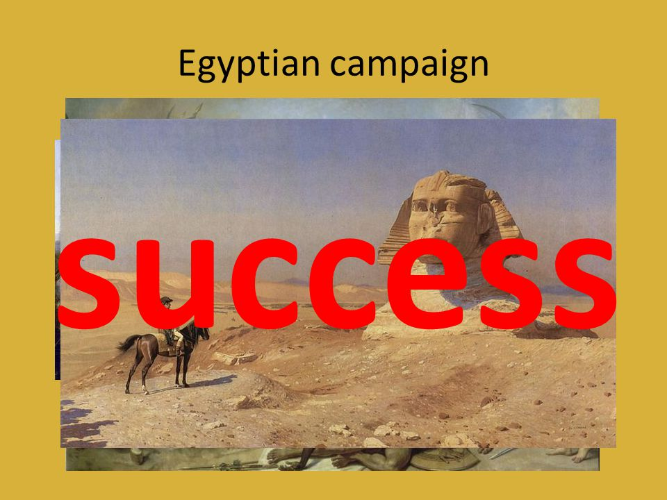 Egyptian campaign success