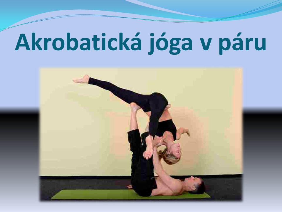 Akrobatická jóga v páru