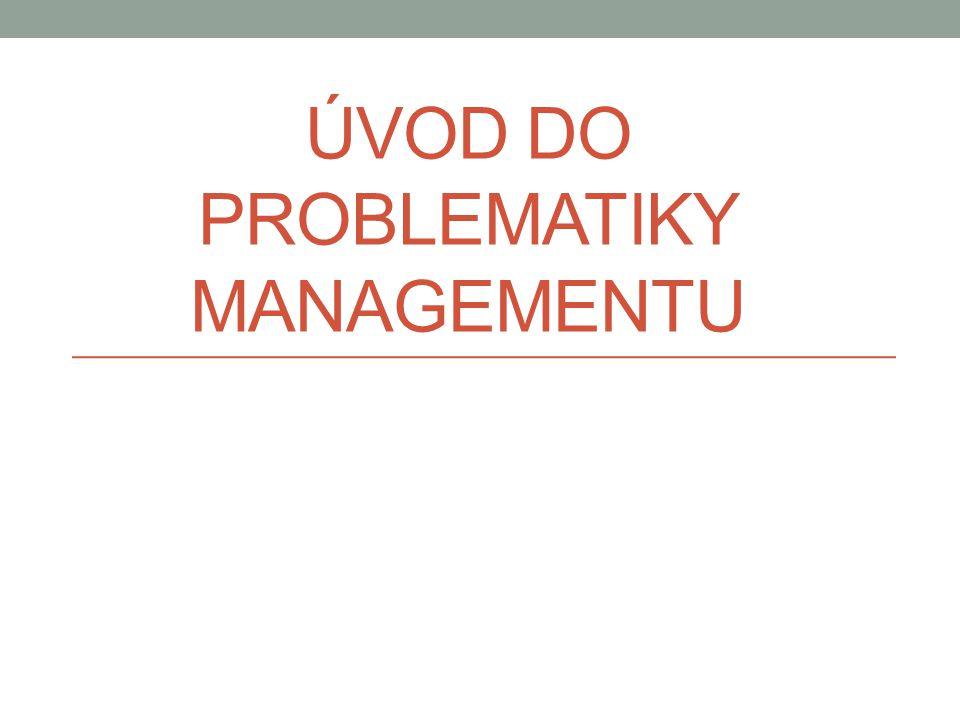 Styl manažerské práce • Styl manažerské práce představuje způsob činnosti manažera charakterizující postupy jeho rozhodování a zvolené metody dosahování vytýčených cílů.