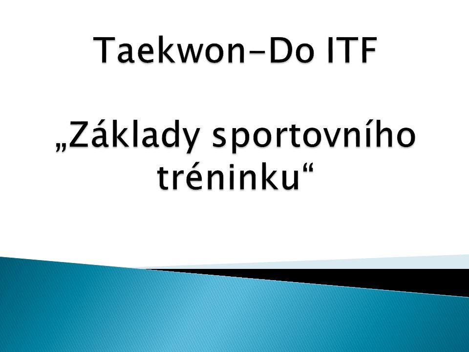 1.Sportovní trénink 2. Sportovní výkon 3. Zóny energetického krytí 4.