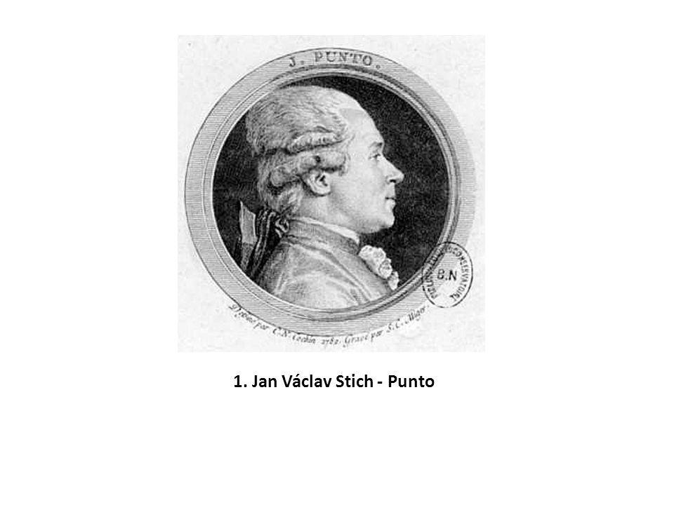 1. Jan Václav Stich - Punto