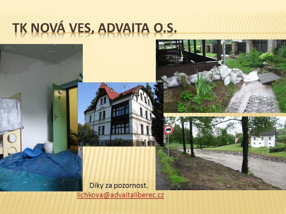 Díky za pozornost. lichkova@advaitaliberec.cz lichkova@advaitaliberec.cz