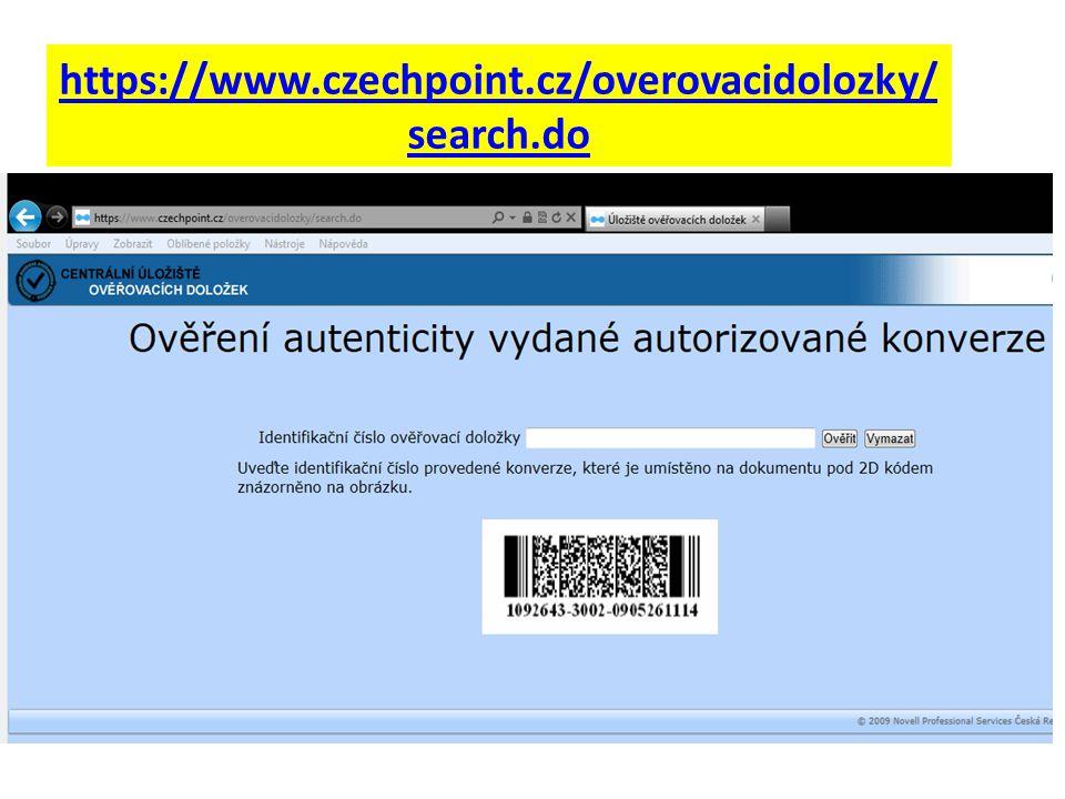 https://www.czechpoint.cz/overovacidolozky/ search.do