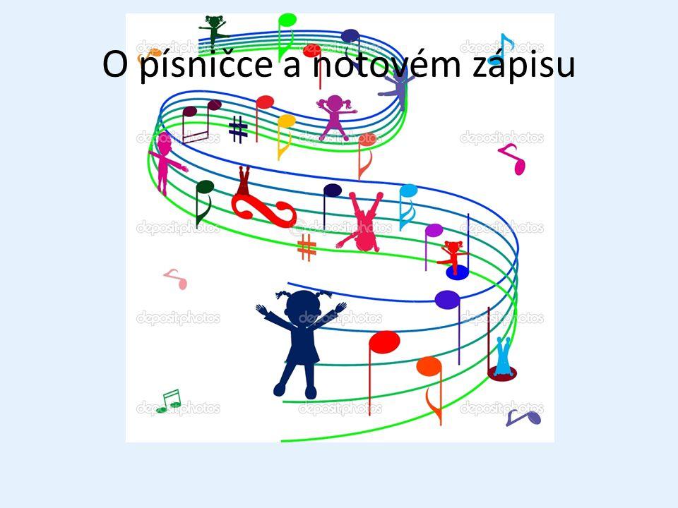 Odkazy Úvodní obrázek: http://static8.depositphotos.com/1483935/985/i/950/depositphotos_9856361-Decorated-stave-with-playing-children.jpghttp://static8.depositphotos.com/1483935/985/i/950/depositphotos_9856361-Decorated-stave-with-playing-children.jpg Písnička o písničce – I.Kolaříková: http://www.youtube.com/watch?v=iTmk-6Hmmvohttp://www.youtube.com/watch?v=iTmk-6Hmmvo Zpívající děti:http://www.view-card.com/wp-content/uploads/2012/06/singing-children-1306544613r1n.jpg Noty: http://www.poradte.cz/picture/2012/751034.jpghttp://www.poradte.cz/picture/2012/751034.jpg Notová osnova: http://pianovka.cz/obrazky/hn/not/not-osn/not-osn1.jpghttp://pianovka.cz/obrazky/hn/not/not-osn/not-osn1.jpg http://www.midnightmusic.com.au/wp-content/uploads/2012/09/Stave-lines-1-system-large.png Básnička o notové osnově, houslovém klíči: Pojďme si hrát,Talacko Houslový klíč: http://thumbnail026.mylivepage.com/chunk26/350004/231/small_houslov%C3%BD%20kl%C3%AD%C4%8D.jpg.jpghttp://thumbnail026.mylivepage.com/chunk26/350004/231/small_houslov%C3%BD%20kl%C3%AD%C4%8D.jpg.jpg http://guitar-blog.wz.cz/image/teorie/hklic.gif Obrázek kluka: http://t2.gstatic.com/images?q=tbn:ANd9GcTsY6p9wXPkKjUpwvJ9kbhMa0ePjzwJVHnEYrEzFDTU2HzGP2kQ9dTh3Yi1http://t2.gstatic.com/images?q=tbn:ANd9GcTsY6p9wXPkKjUpwvJ9kbhMa0ePjzwJVHnEYrEzFDTU2HzGP2kQ9dTh3Yi1 Nota celá: http://upload.wikimedia.org/wikipedia/commons/thumb/2/28/Stup_5.JPG/200px-Stup_5.JPGhttp://upload.wikimedia.org/wikipedia/commons/thumb/2/28/Stup_5.JPG/200px-Stup_5.JPG http://ikona.pixmac.cz/4/3d-cela-nota-art-artistic-pixmac-ikona-48351759.jpg Nota půlová: http://1.bp.blogspot.com/-Sk2xnua0038/ULFQjY50lII/AAAAAAAAR4A/_fCu3HN9HCI/s1600/n%C3%A1zvy+not.PNGhttp://1.bp.blogspot.com/-Sk2xnua0038/ULFQjY50lII/AAAAAAAAR4A/_fCu3HN9HCI/s1600/n%C3%A1zvy+not.PNG Nota čtvrťová: http://www.lilypond.org/doc/v2.17/Documentation/c9/lily-35f0a6de.pnghttp://www.lilypond.org/doc/v2.17/Documentation/c9/lily-35f0a6de.png Nota osminová: http://www.warmup.szm.com/polka.gifhttp: