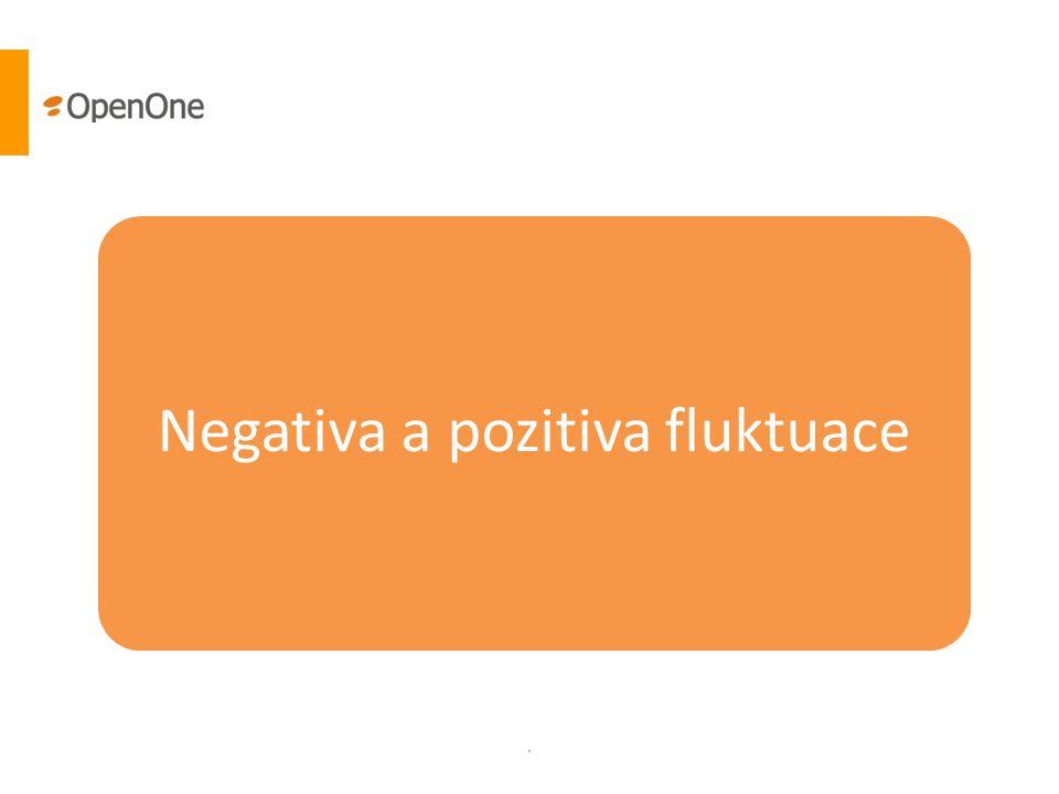 . Negativa a pozitiva fluktuace