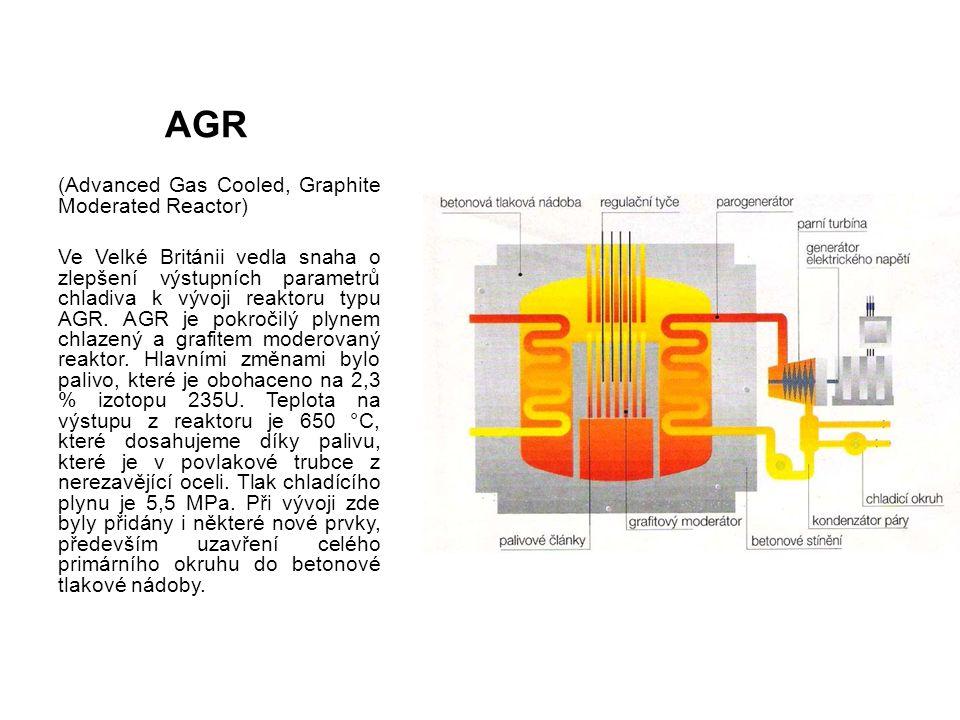 VVER, PWR Tlakovodní reaktor VVER/PWR je nejobvyklejší typ (asi 60% všech reaktorů, včetně reaktorů v Dukovanech a Temelíně).