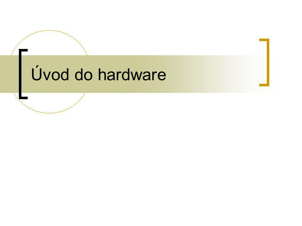 Úvod do hardware