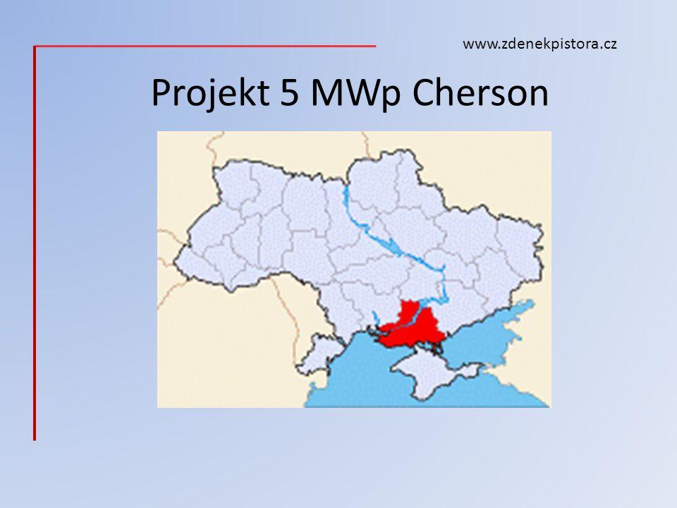 Projekt 5 MWp Cherson www.zdenekpistora.cz