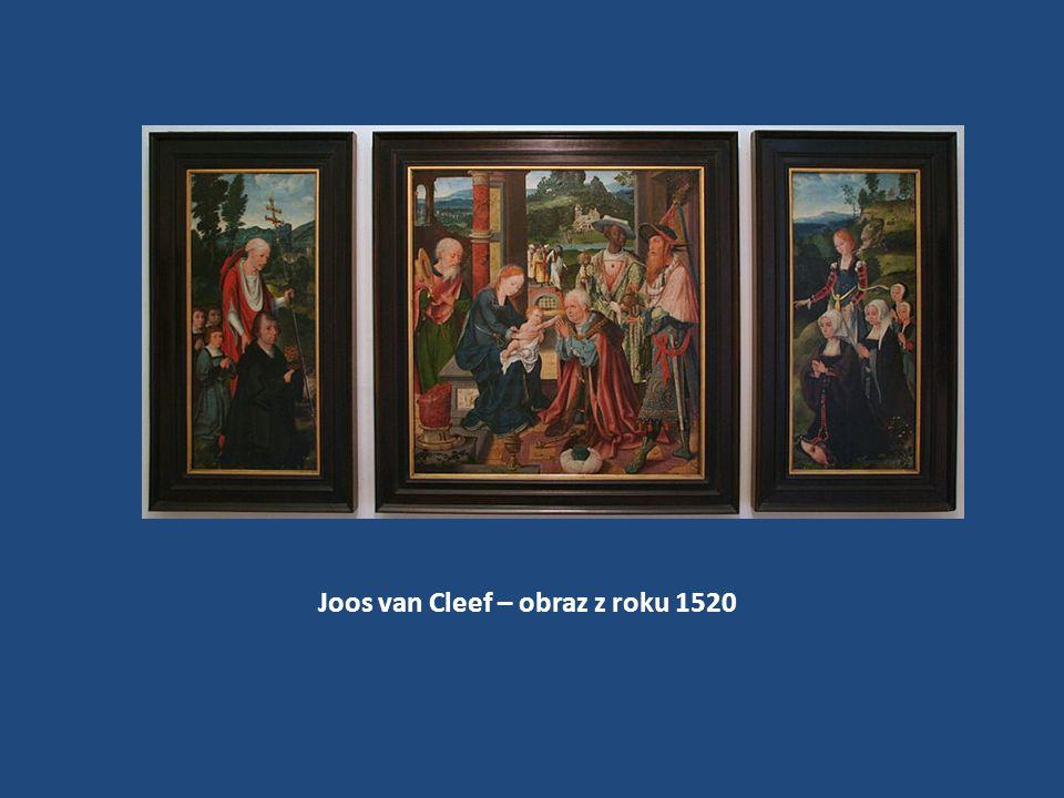 Joos van Cleef – obraz z roku 1520
