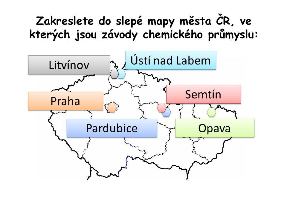 Ústí nad Labem Litvínov Praha Semtín Pardubice Opava